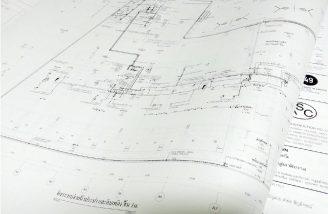 ปริ้นแบบแปลน แบบก่อสร้าง